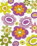текстура цветка Стоковые Фото
