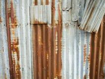 Текстура цинка Стоковая Фотография