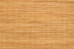 текстура циновки деревянная Стоковое Изображение RF