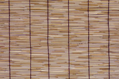Текстура циновки ротанга Стоковое Фото