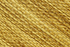Текстура циновки травы Стоковая Фотография
