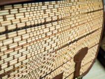 Текстура циновки Стоковое Изображение RF