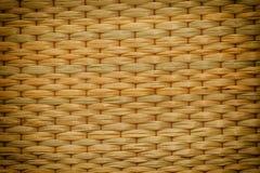 Текстура циновки Reed Стоковые Фотографии RF