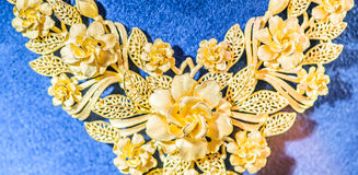 Текстура части ожерелиь Стоковое Изображение RF