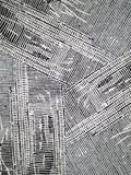 текстура чернил grunge нечетная striped Стоковые Изображения