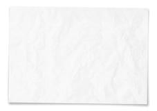 Текстура чистого листа бумаги Стоковые Фото