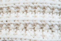 Текстура шерстяной ткани Стоковая Фотография RF