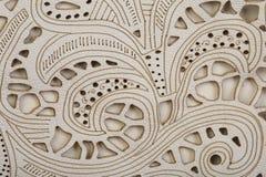Текстура шнурка кожаная Стоковое Изображение RF