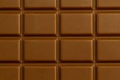 Текстура шоколада бара Стоковая Фотография