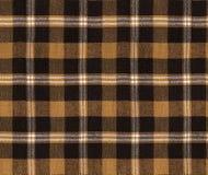 Текстура шотландки ткани Картина шотландки безшовная/Checkered предпосылка ткани таблицы Стоковые Изображения