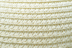 Текстура шляпы Панамы Стоковое Изображение RF
