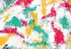 Текстура эскиза абстрактного искусства Красочные цифров нарисованные линии цветастая текстура современное художественное произвед Стоковые Изображения
