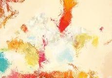 Текстура эскиза абстрактного искусства Красочные цифров нарисованные линии цветастая текстура современное художественное произвед Стоковое Изображение RF