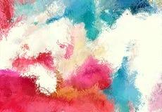 Текстура эскиза абстрактного искусства Красочные цифров нарисованные линии цветастая текстура современное художественное произвед Стоковые Фото