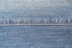 Текстура 2 джинсыов Стоковое Изображение RF