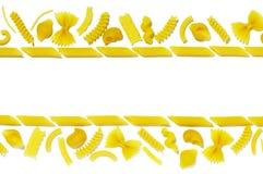 текстура 3 макаронных изделия Стоковая Фотография RF