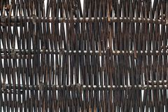 Текстура bamboo корзины Стоковые Изображения RF