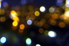 Текстура Bokeh Стоковая Фотография RF
