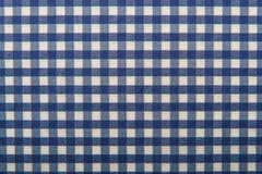 Текстура checkered салфетки Стоковое фото RF