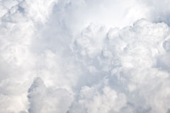 Текстура Cloudscape Стоковая Фотография