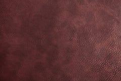 Текстура cowhide темного коричневого цвета Стоковые Фото