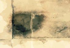 Текстура Editable винтажного стиля стиля искусства предпосылки вектора Grunge ретро огорченная Большой фон элемента дизайна для Стоковое Изображение RF
