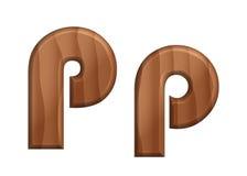 Текстура font-16 природы деревянная Стоковая Фотография RF