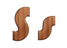 Текстура font-19 природы деревянная Стоковая Фотография