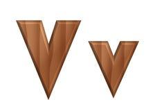 Текстура font-22 природы деревянная Стоковые Фото