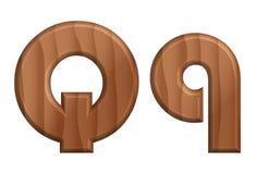 Текстура font-17 природы деревянная Стоковое Изображение RF