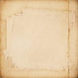 Текстура Grunge бумажная, предпосылка год сбора винограда Стоковые Фото