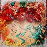 Текстура Grunge бумажная, предпосылка год сбора винограда Стоковые Изображения