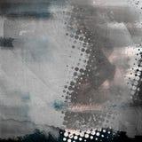 Текстура Grunge бумажная, предпосылка год сбора винограда Стоковая Фотография