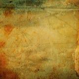 Текстура Grunge бумажная, предпосылка сбора винограда Стоковая Фотография RF