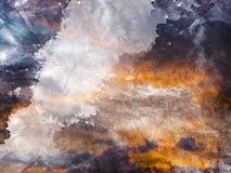 текстура grunge бумажная Стоковая Фотография