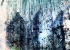 текстура grunge деревянная Стоковые Изображения RF