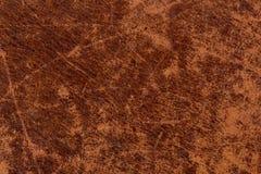Текстура Grunge кожаная Стоковые Фото