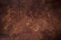 Текстура Grunge коричневая кожаная Стоковое Изображение RF