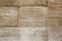Текстура grunge панелей стены металла ржавчины Стоковое Изображение RF