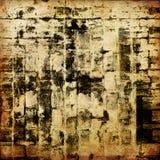 текстура grunge предпосылки абстрактного искусства графическая Стоковая Фотография