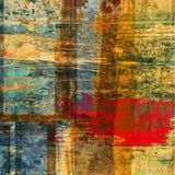 текстура grunge предпосылки абстрактного искусства Стоковое фото RF