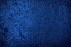текстура grunge предпосылки голубая Стоковые Фотографии RF