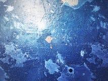 текстура grunge предпосылки голубая Стоковая Фотография RF