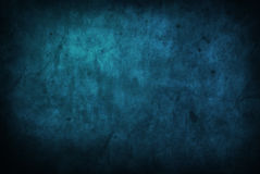 текстура grunge предпосылки голубая Стоковые Изображения