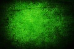 текстура grunge предпосылки зеленая Стоковая Фотография