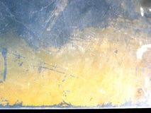 текстура grunge промышленной поцарапанная ржавчиной Стоковые Изображения