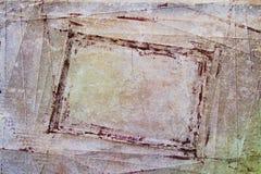 текстура grunge рамки Стоковые Фотографии RF