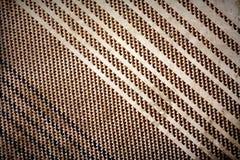 текстура grunge ткани предпосылки бежевая Стоковая Фотография RF