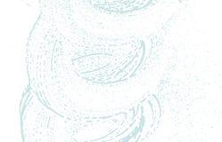 Текстура Grunge Трассировка дистресса голубая грубая классицистическо иллюстрация штока