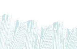 Текстура Grunge Трассировка дистресса голубая грубая классицистическо иллюстрация вектора
